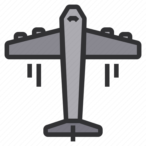 airplane, electronic, home, smart, technology icon