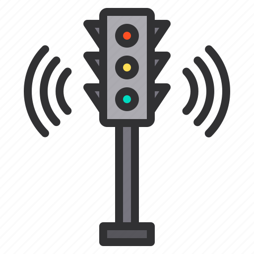 control, electronic, home, smart, technology, traffic icon