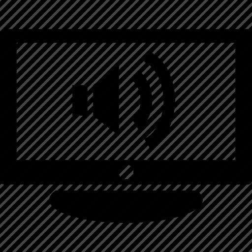 max, smart, sound, tv, volume icon