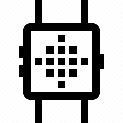 data, device, smartwatch, technology, time icon