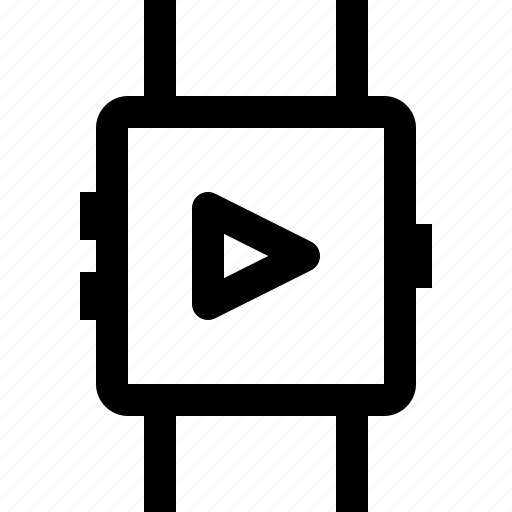 device, play, smartwatch, technology, time icon