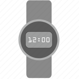 clocks, dark, dial, digital, watches icon