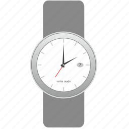 clock, dial, made, modern, smart, swiss, watches icon