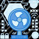 ventilator, device, electronic, camera, appliance, fan icon