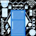 device, electronic, freezer, fridge, home, kitchen, storage icon