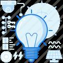 bulb, eco, ecology, light, lightbulb, lighting icon