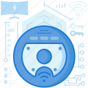 appliance, cleaner, device, electronic, roomba, vacuum, wireless icon
