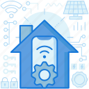 connection, control, home, house, smarthome, smartphone, wireless