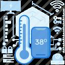 cold, control, device, heat, temperature, thermometer, wireless
