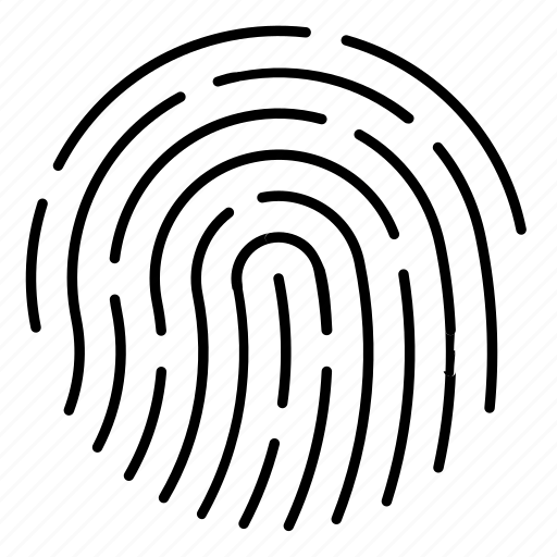 biometric lock, finger print, fingerprint, lock, security, smarthome icon