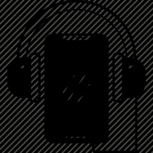app, gamut, headphonephone, music, tone icon