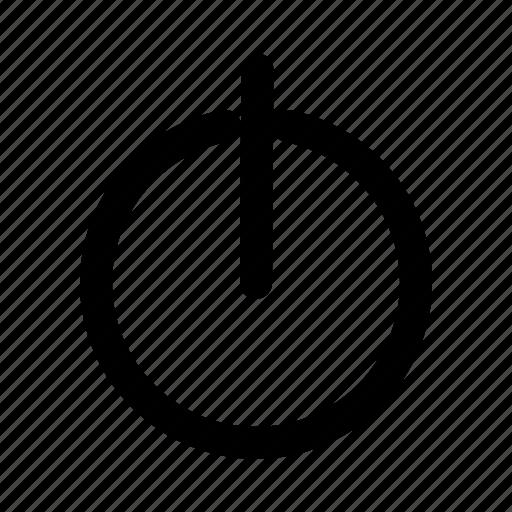 Logout Off Power Power Button Shut Down Smarthphone Switch Icon