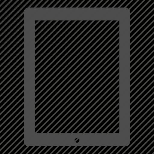 apple, device, display, ios, ipad, screen, tablet icon