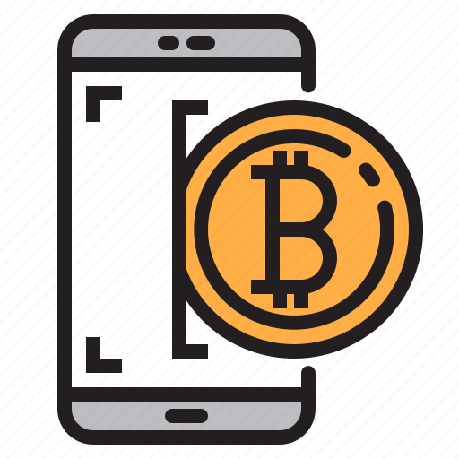 app, application, bitcoin, mobile, phone, smartphone icon