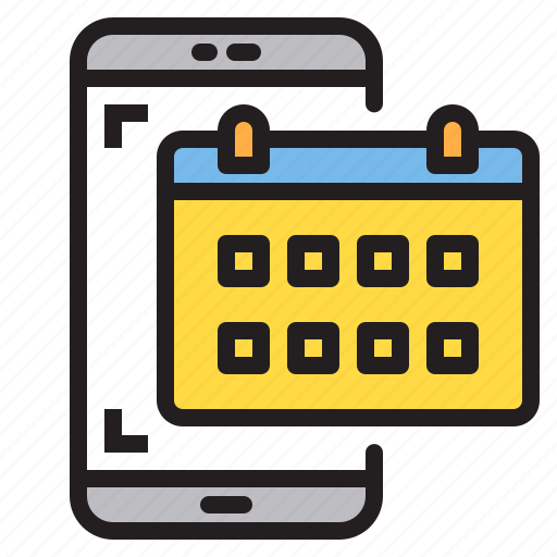 app, application, calendar, mobile, phone, smartphone icon