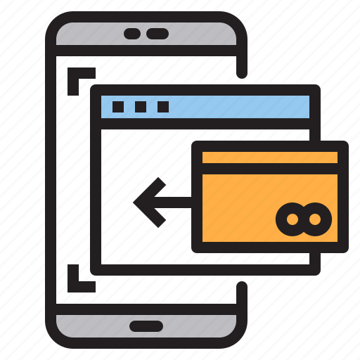 app, application, card, mobile, phone, smartphone icon