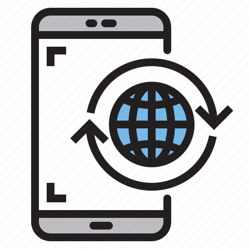 app, application, global, mobile, phone, smartphone icon
