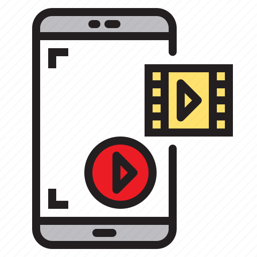 app, application, mobile, phone, play, smartphone icon