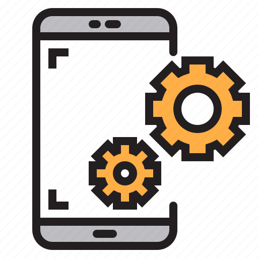 app, application, mobile, phone, setting, smartphone icon