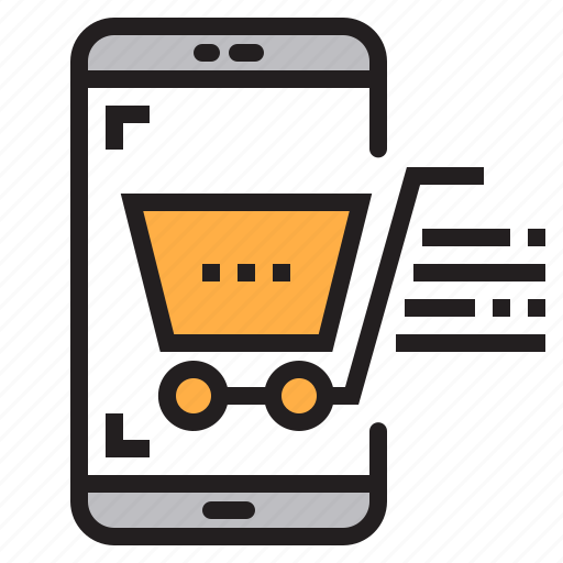 app, application, mobile, phone, shoping, smartphone icon