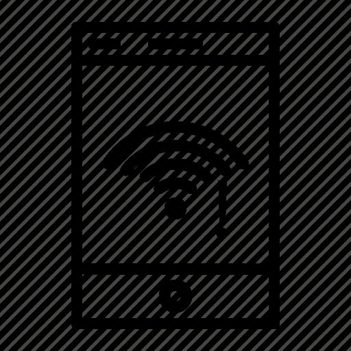 application, mobile, mobile application, smartphone, wifi, wifi application icon