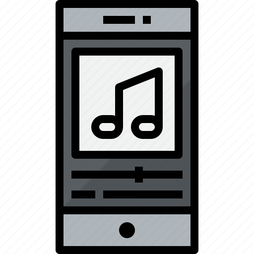 commnication, device, music, smartphone, technology icon