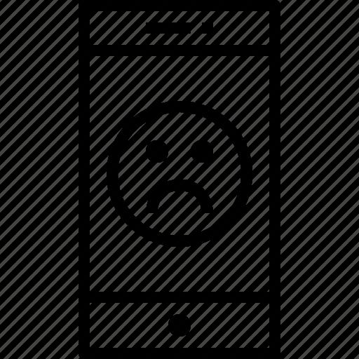 communication, device, emotion, smartphone, technology icon