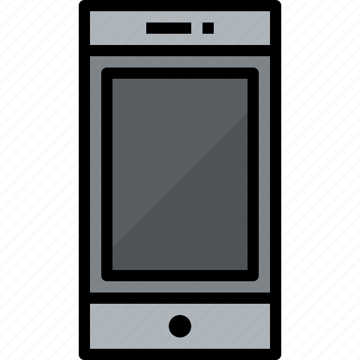commnication, device, smartphone, technology icon