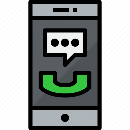 call, commnication, device, smartphone, technology icon