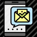image, image send, message, mms, sending, sending image, smartphone icon