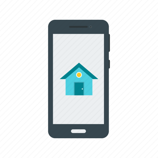 access, control, home, mobile, phone, screen, smartphone icon