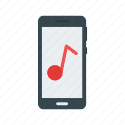 app, audio, mobile, mp3, music, player, smartphone icon