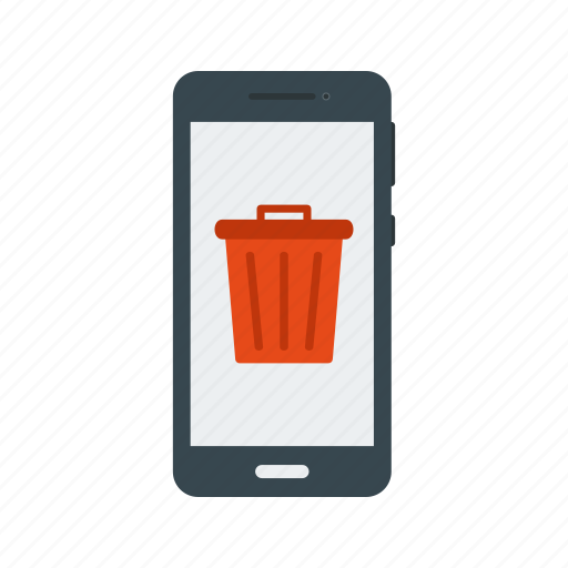 bin, cancel, delete, garbage, recycle bin, remove, trash icon