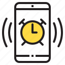 alarm, app, application, function, mobile, phone, smartphone icon