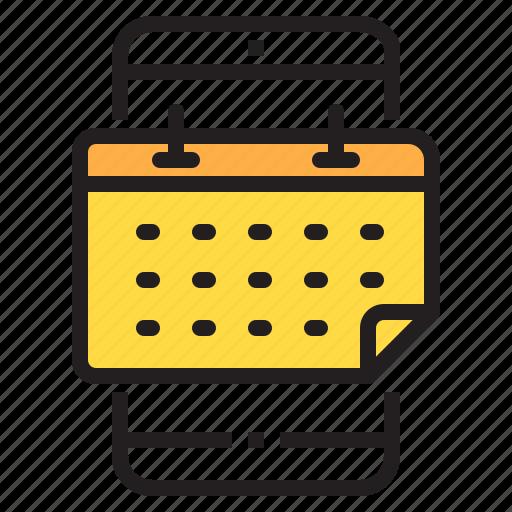 app, application, calendar, function, mobile, phone, smartphone icon