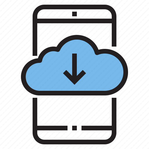app, application, cloud, function, mobile, phone, smartphone icon