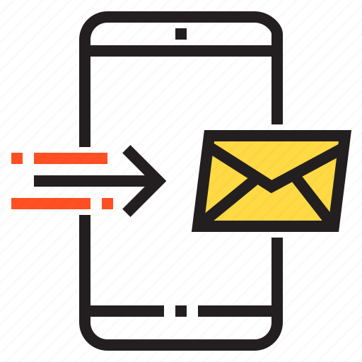 application, e, function, mail, mobile, phone, smartphone icon