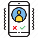 app, application, function, mobile, phone, smartphone, vibrate icon