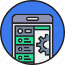 app, development, device, mobile, smartphoe icon
