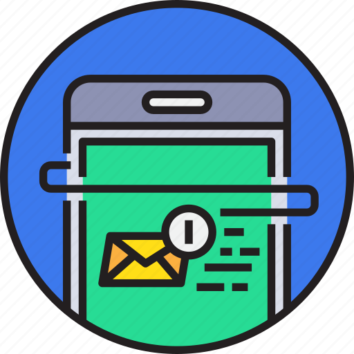 app, device, email, mail, message, mobile, smartphoe icon