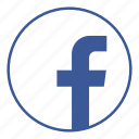 communication, contact, facebook, friends, media, online, social icon