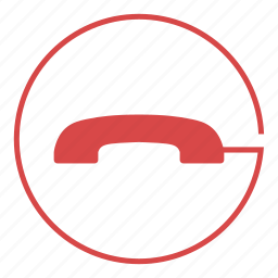 call, end, hang, mobile, phone, smartphone, up icon