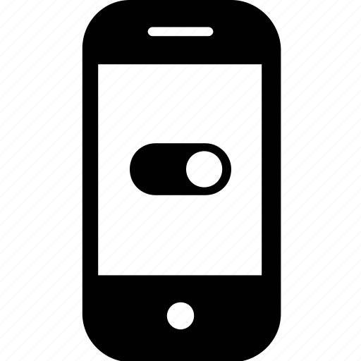 device, gadget, mobile, off, on, smartphone, switch icon
