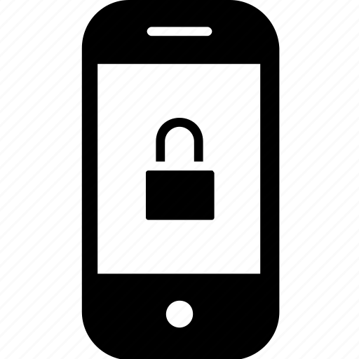 device, gadget, lock, mobile, secure, smartphone icon