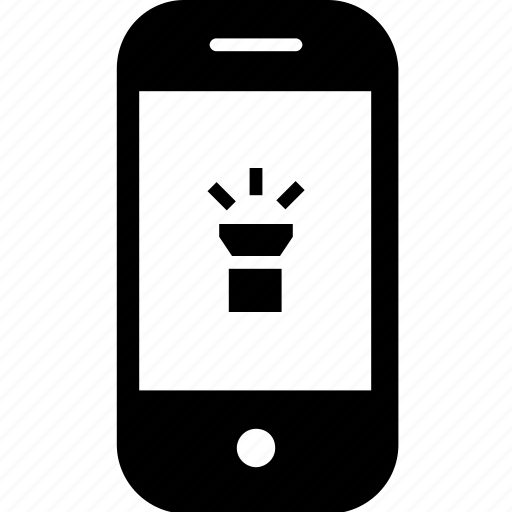 device, gadget, lighting, mobile, smartphone, torch icon