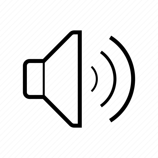 audio, mode, music, sound, speaker, volume icon