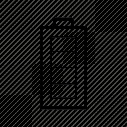 battery, capacity icon