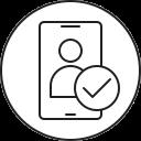 smartphone, verificatoin, mobile, phone