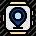 navigation, location, gps, maps, satellite, watch, smart