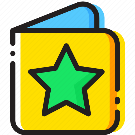book, child, story, toy, yellow icon